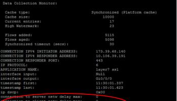 FNF (Flexible Netflow) : Cisco IOS-XE configuration – I
