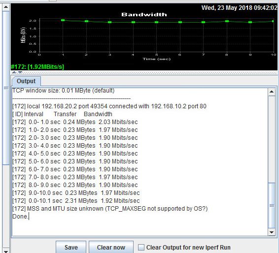 Using Iperf for Network Bandwidth Measuring/Testing – I – Protocoholic
