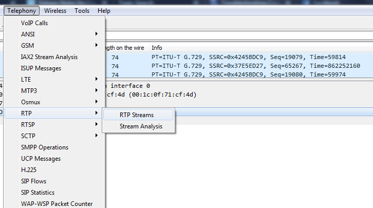 Wireshark: How to Identify RTP stream Packet Drop – Protocoholic